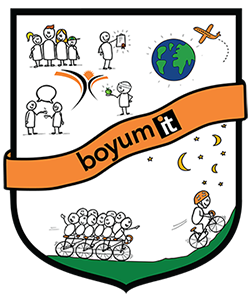 Boyum Coat of arms